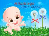 eKartki elektroniczne z tagiem: Życzenia dla Mamy Milutkiego Dnia Matki,