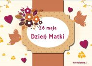 eKartki Dzień Matki Pięknego Dnia Matki,