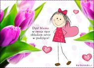 eKartki Dzień Matki Podziękowanie,