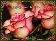eKartki elektroniczne z tagiem: Życzenia dla Mamy Przyjmij mamo te róże!,