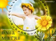 eKartki elektroniczne z tagiem: Życzenia dla Mamy Słonecznego Dnia Matki,