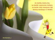 eKartki Dzień Matki Tulipan dla Mamy,