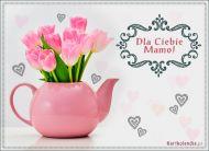 eKartki elektroniczne z tagiem: e Pocztówki online Tulipany dla mojej mamy,