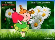 eKartki elektroniczne z tagiem: Życzenia dla Mamy W tym szczególnym dniu!,