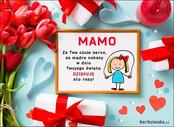 eKartki elektroniczne z tagiem: Tulipan Dziękuję - Sto razy,