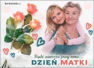 eKartki elektroniczne z tagiem: Bukiet kwiatów Bądź zawsze przy mnie!,