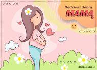 eKartki Dzień Matki Będziesz dobrą Mamą,