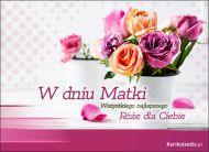 eKartki elektroniczne z tagiem: Bukiet kwiatów Bukiet róż dla Mamy,