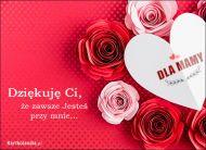 eKartki elektroniczne z tagiem: Róża Dziękuję Ci Mamo!,
