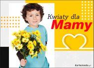 eKartki elektroniczne z tagiem: Bukiet kwiatów Kwiaty dla Mamy,