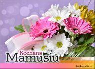 eKartki elektroniczne z tagiem: Bukiet kwiatów Wiązanka kwiatów dla Mamy,