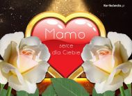 eKartki elektroniczne z tagiem: Darmowe kartki elektroniczne Serce dla Matki,