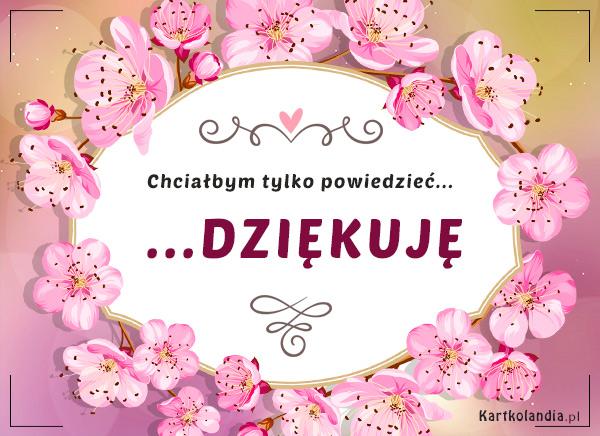 eKartki Wyraź uczucia -> Dziękuję Ci Kartka - Dziękuję!,