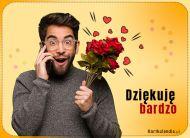 eKartki elektroniczne z tagiem: Darmowe e-kartki Dziękuję bardzo!,