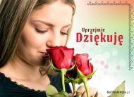 eKartki elektroniczne z tagiem: Róża Uprzejmie dziękuję,