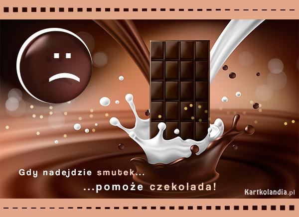 eKartki Wyraź uczucia -> Smutek Gdy nadejdzie smutek...,
