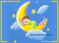 eKartki Wyra¼ uczucia -> Dobranoc Smacznych snów!,