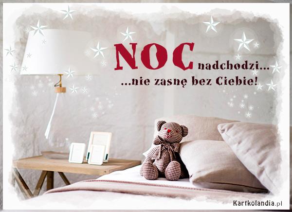 eKartki Wyraź uczucia -> Dobranoc Noc nadchodzi...,