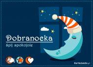 eKartki Wyraź uczucia -> Dobranoc Dobranocka,
