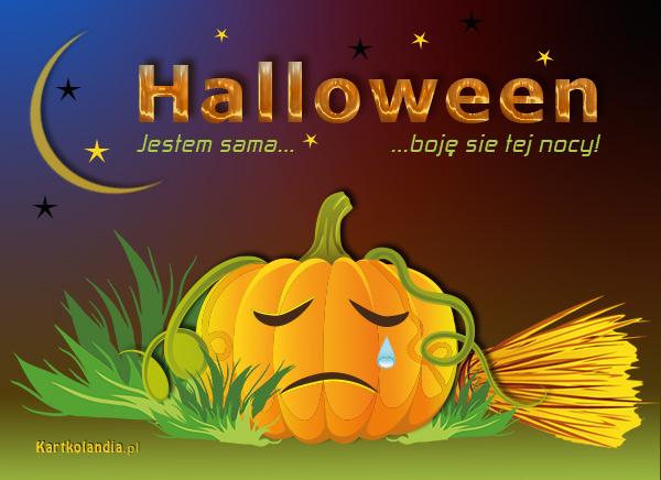 Samotność w Halloween