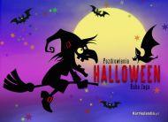 eKartki elektroniczne z tagiem: Darmowe kartki na Halloween Baba Jaga,