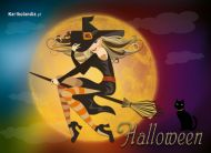 eKartki elektroniczne z tagiem: e-Kartka na Halloween Czarodziejska noc,