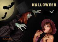 eKartki Halloween Dopadnie Ciê strach,