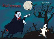 eKartki Halloween Dracula nadchodzi,