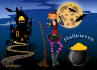 eKartki Halloween e-Kartka na Halloween,