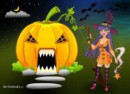 eKartki elektroniczne z tagiem: Darmowe kartki na Halloween Halloween e-Kartka,