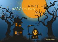eKartki Halloween Halloween Night,