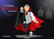 eKartki elektroniczne z tagiem: Darmowe kartki na Halloween Hrabia Dracula,