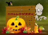 eKartki elektroniczne z tagiem: e-Kartka na Halloween Kartka na Halloween,