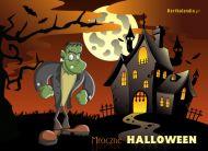 eKartki elektroniczne z tagiem: e-Kartka na Halloween Mroczne Halloween,