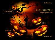 eKartki Halloween Mrok i lęk,