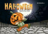 eKartki Halloween Ogarnie Ciê strach,
