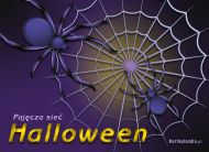 eKartki Halloween Pajęcza sieć,