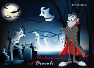 eKartki elektroniczne z tagiem: e-Kartka na Halloween Pozdrowienia od Draculi,