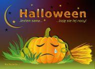 eKartki Halloween Samotność w Halloween,