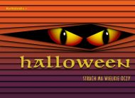 eKartki Halloween Strach ,