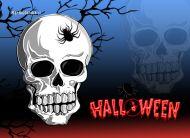eKartki Halloween Trupia czacha,