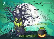 eKartki Halloween Uważaj w Halloween,
