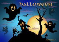 eKartki Halloween W nocy o północy,