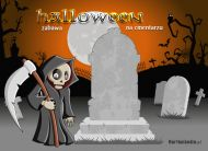 eKartki Halloween Zabawa na cmentarzu,