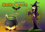 eKartki Halloween Zaproszenie na Halloween,