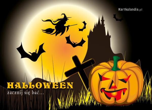 Kartka na Halloween