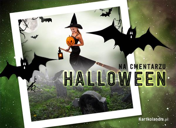 Halloween na cmentarzu