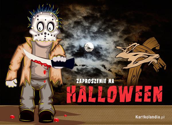 eKartki elektroniczne z tagiem: Darmowe e-kartki zaproszenia Zaproszenie na Halloween,
