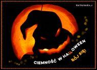 eKartki Halloween Ciemność w Halloween,