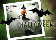eKartki elektroniczne z tagiem: Kartki Halloween Halloween na cmentarzu,